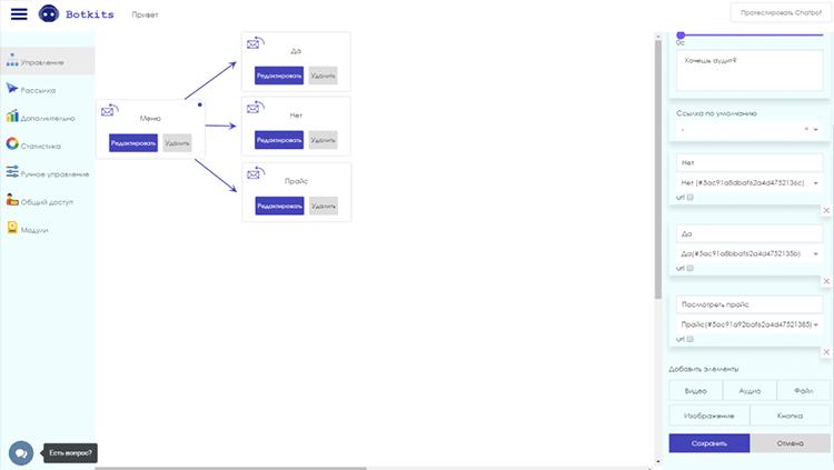 Bot kits chatbot