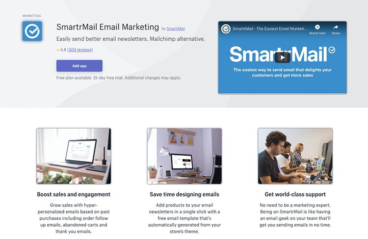 SmartrMail app