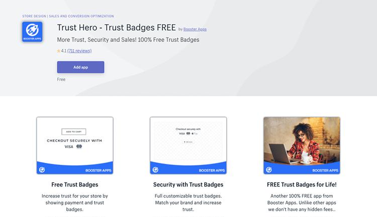 Trust Hero app