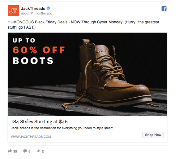 6 Tips For Black Friday Facebook Ads To Boost Sales Sixads