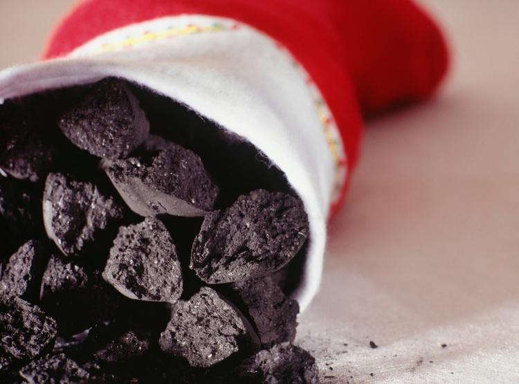 coal in the stocking