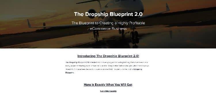 dropship blue print course