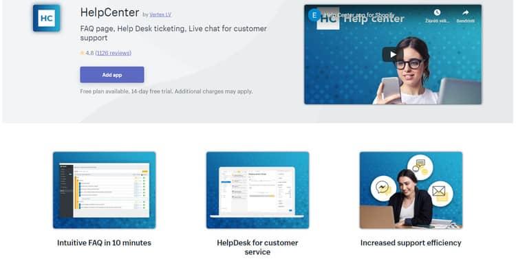 helpcenter app