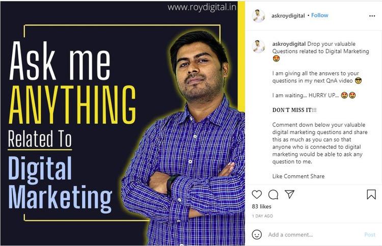 ama ask me anything digital marketing
