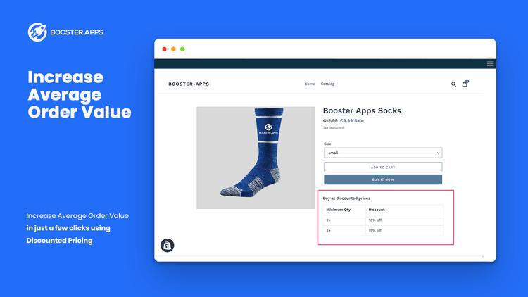 Bulk discount image example
