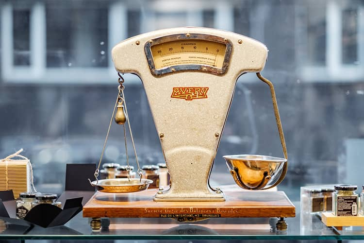 old school scale