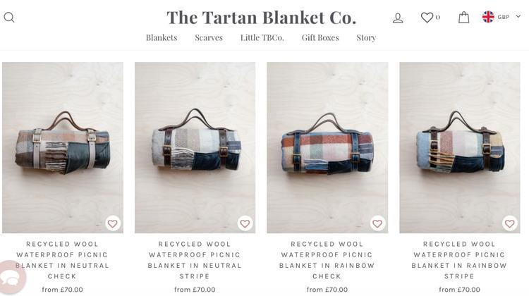 the tartan blanket company