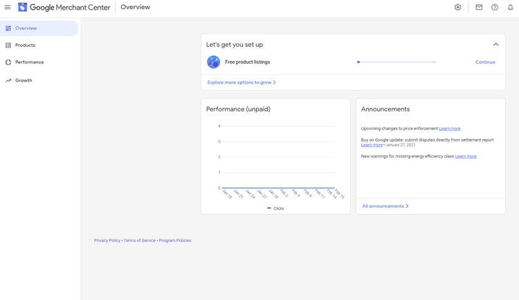 google merchant center step 5