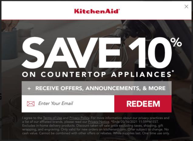 kitchen aid newsletter