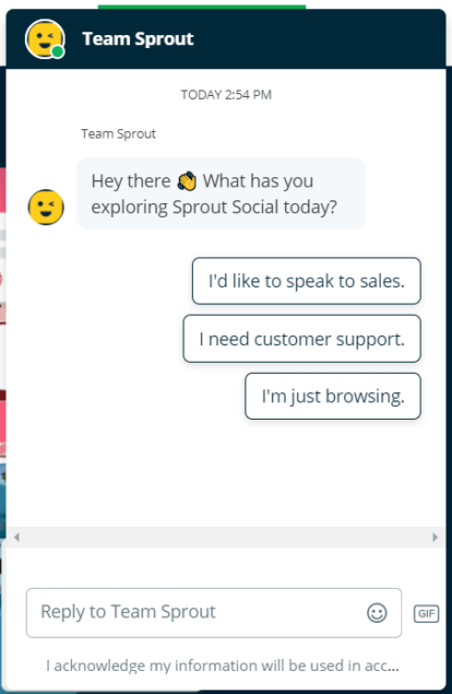 sprout team chat